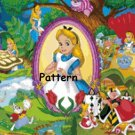 Alice In Wonderland . Cross Stitch Pattern. PDF Files.
