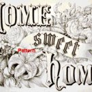 Home sweet home. Cross Stitch Pattern. PDF Files.