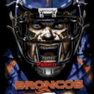 Denver Broncos Football Player. Cross Stitch Pattern. PDF Files.
