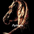 Horse. Cross Stitch Pattern. PDF Files.