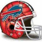 Buffalo Bills Helmet #1. Cross Stitch Pattern. PDF Files.