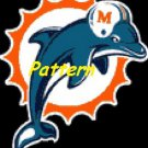 Miami Dolphins Mascot #11. Cross Stitch Pattern. PDF Files.