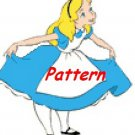 Alice In Wonderland #7. Cross Stitch Pattern. PDF Files.