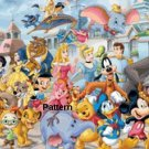 Disney Heroes #2. Counted Cross Stitch Kit. Free shipping.