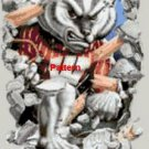 Wisconsin Badgers Mascot. Cross Stitch Pattern. PDF Files.