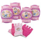 Disney Princess Pad Set ( Knee / Elbow and Gloves )  Protection Pack Girl Bike