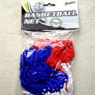 Franklin 12 Loop HOURGLASS STYLY Red White and Blue Basketball Net official size