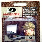 MOSSY OAK 4 IN 1 CAMO HUNTING FACE PAINT MO-4NIMU Hunting Olive brown kit w Mirr
