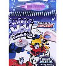 Transformers Animated Water Wow Book 4-reusable Doodle Scene Trans Formers NEW