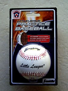 Franklin Little League Practice baseball white official size and weight # 1540 N