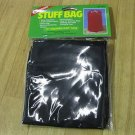 """Coghlan's Stuff Bag BLACK 8212 Round bottom 12"""" x 22"""" Water repellent Coasted Ny"""