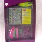 STAPLES School Supplies kit Purple Great Gift 40784 stapler staples paper clips