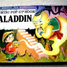 A mini Pop Up Book ALADIN ISBN 0876376359 House of Collectibles 1984 children bo