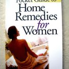 Pocket Guide to Home Remedies for Women RODALE publises Prevention PB book NEW m
