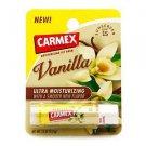 TWO Carmex Ultra Moisturizing Lip Balms SPF 15 smooth flavor Vanilla .15 oz 4.25