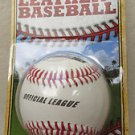 Franklin Official League Leather Baseball # 1534 Rubber core Official Size and w