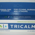 Tricalm Steroid Free Hydrogel for Itching Eczema Burning Psoriasis Stings 2 oz