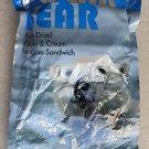 Bearly Cold Polar Bear Freeze Dried Cookies & Cream Ice Cream Sandwich 1.1 oz NE