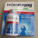Brain Strong Adult Daily Supplement DHA 300mg 120 softgels Brainstrong Improve m