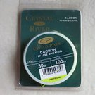 Crystal River Dacron Fly line backing 30 lb x 100 yd CHARTREUSE  FLB-130C fish N