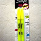 2 Sharpie Accent Pocket Style Highlighters Fluorescent Yellow 27162 Highlighter