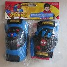 Spiderman Webslinger Protective Gear ( knee, elbow pads with gloves) spider man