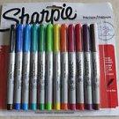 Sharpie Precision 12 ct Permanent Marker Ultra fine Multi-color 37175 Marks NEW