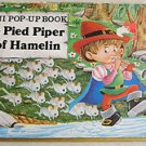 A mini pop up book THE PIED PIPER OF HAMELIN 0876376375 in USA by house of colle