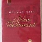 Holman CSB New testament Holman Christian Standard Bible 0840041918 Book NEW Eng