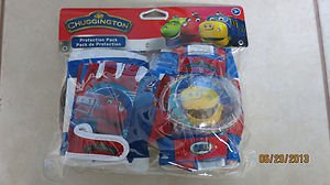 Chuggington Protection pack ( Knee / Elbow and gloves ) Age: 3 + pad set Protect
