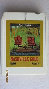 Stereo 8 Victor TWIN PACK Nasville Gold RCA S2132295 My Blue Tears Sunday RCA mo