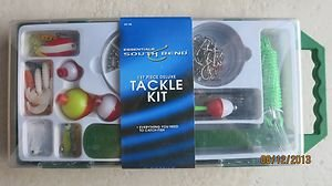 Essentials Tackle kit 137 piece deluxe KIT-90 Everything you need to catch fish