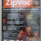 ZipVac cordless electric pump + Zipvac Manual Pump + 5 bags NEW gallon + quart N