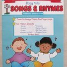 Songs & Rhymes busy kids from your friends at the Mailbox TEC544 : circus garden