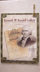 Kenneth W. Rendell Gallery CATALOGUE 284 Jefferson grants safe passage Book PB L