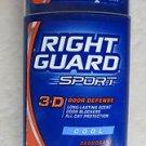 Right Guard Sport 3D Odor Defense Deodorant COOL 3.0 oz ( 85g ) Long Lasting Sce
