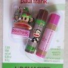 Lip Smacker PAUL FRANK 2 pcs total net wt 0.28 oz ( 8.0 g ) Hot cocoa mint amare