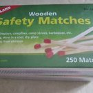Coghlan's Wooden Safety Matches - 2 boxes of 250 matches / 500 matches No. 1250