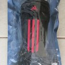 New Adidas Performance BLACK / RED Soccer Shin Guards Protection Gear LARGE adi