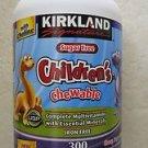 KIRKLAND Signature children's Chewable complete multivitamin 300 tablets childre