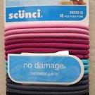 Scunci hair tie 18 pcs One pack 38292-Q No metal parts No damage girl Dark color