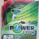 Power Pro Spectra Vermilion Red 10 lb 150 yards Line Fishing Rounder Smoother Ne