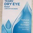 Visine Tears Dry eye Relief Lubricant eye drops 1/2 fl. oz. (15 mL)exp: 2015 NEW