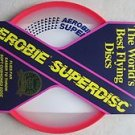 Aerobie Superdisc the world's best flying discs # A25 Flies Far super disc RED