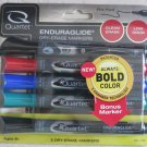One pack of 5 Quartet Dry erase markers Assorted colors FINE POINT 5001-17M NEW
