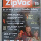ZipVac cordless electric pump + Zipvac Manual Pump + 5 bags NEW gallon zip vac s