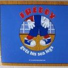 FREDDY gets his sea legs by Claire Brazington 97897475512304 Hard cover children