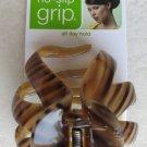 Scunci no slip GRIP all day hold hair 36159-A 1 pc long hair women girl STRIPE n