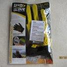 Lindy Fish Handling Glove RIGHT Hand Protection Medium AC961 Yellow fishing sup