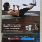 ZON 3 LATEX PILATES STRETCH BANDS exercise equipment Sport pilate band gift in b
